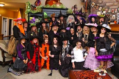 At Amy s she has a contest for the best Witch s Hat f6115a507905